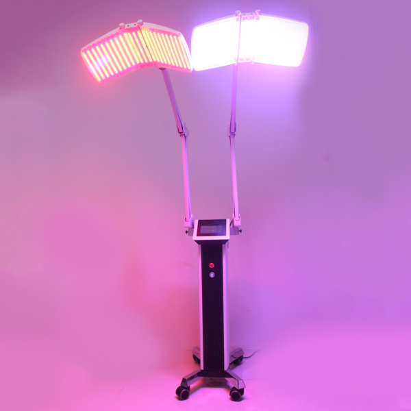2 Handles Pdt Photon Led Light Skin Rejuvenation Machine